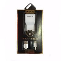 Сетевое зарядное iMax Home Charger QC3.0 + Type-C кабель 1 USB 2A White (BS-000056482)